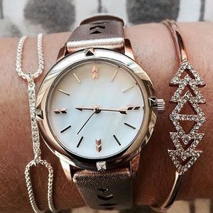 Stella & Dot Rose Gold Watch